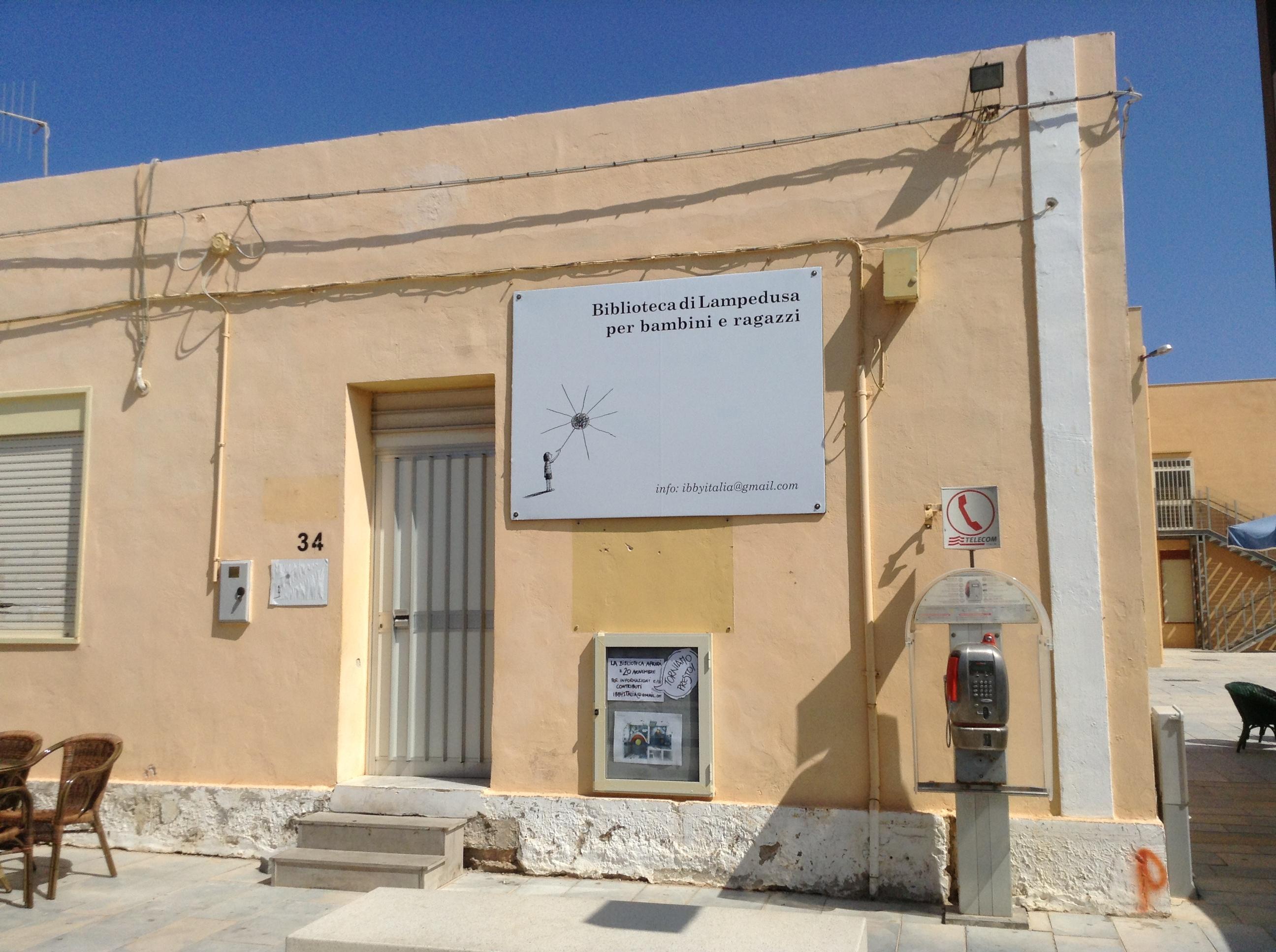 Biblioteca dei ragazzi di Lampedusa