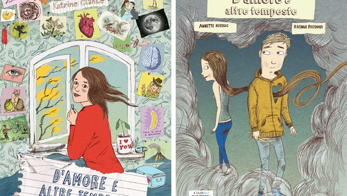 """Speciale San Valentino: """"D'amore e altre tempeste"""", la graphic novel sul sentimento che nasce"""